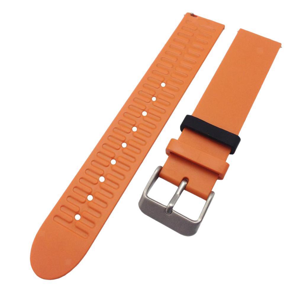Indexbild 18 - Smart Watch Wristband, TPE Gummi Gel Handgelenk Band Bügel Gurt und