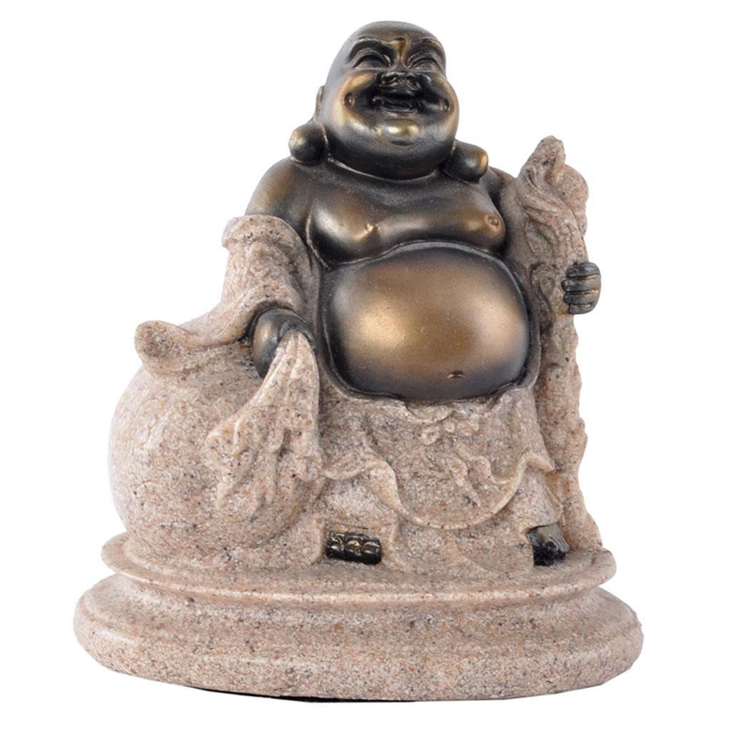 Sandstone-Carving-Statue-Sculpture-Buddha-Animal-Hand-Carved-Figurine-Decor thumbnail 7