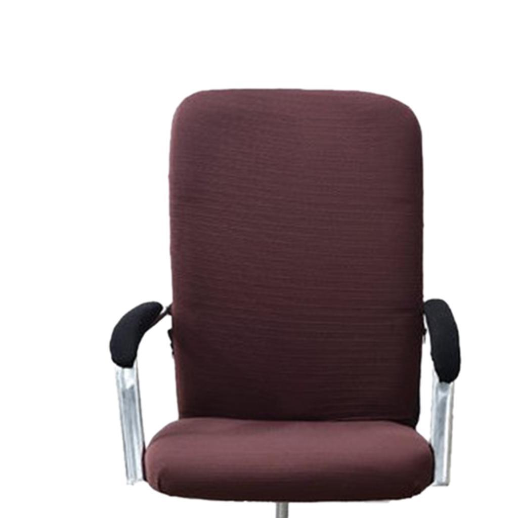 Housse-de-fauteuil-Fauteuil-de-bureau-confortable-Housse-de-siege-pivotant miniature 3