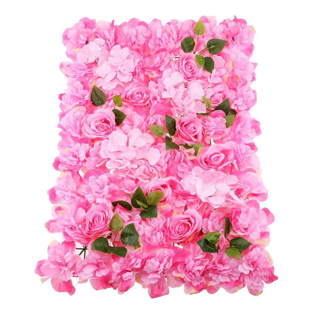 Artificial Dahlia Flower Wall Hanging Panels Wedding Venue ...