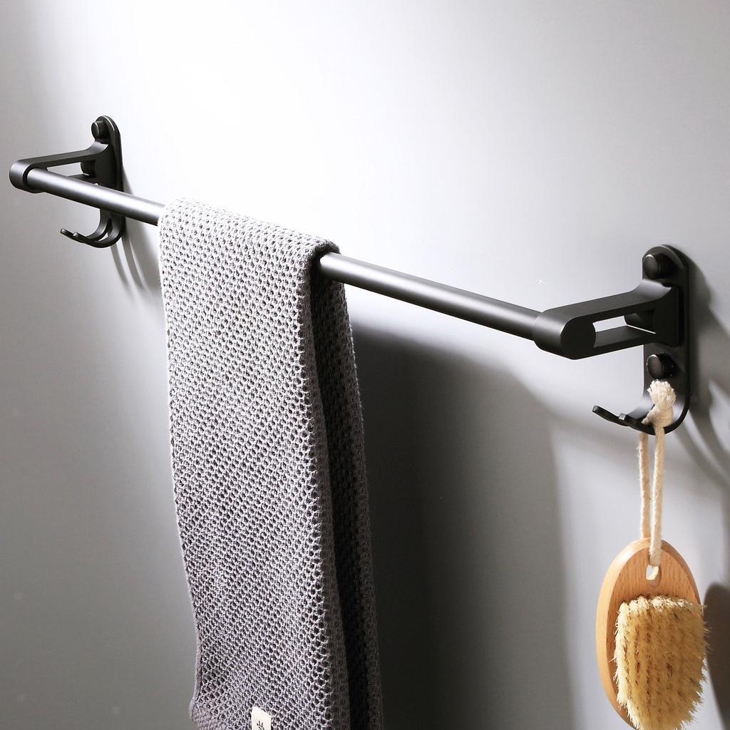 Modernes Design Matte Bad Handtuchhalter Mit Space Dusche