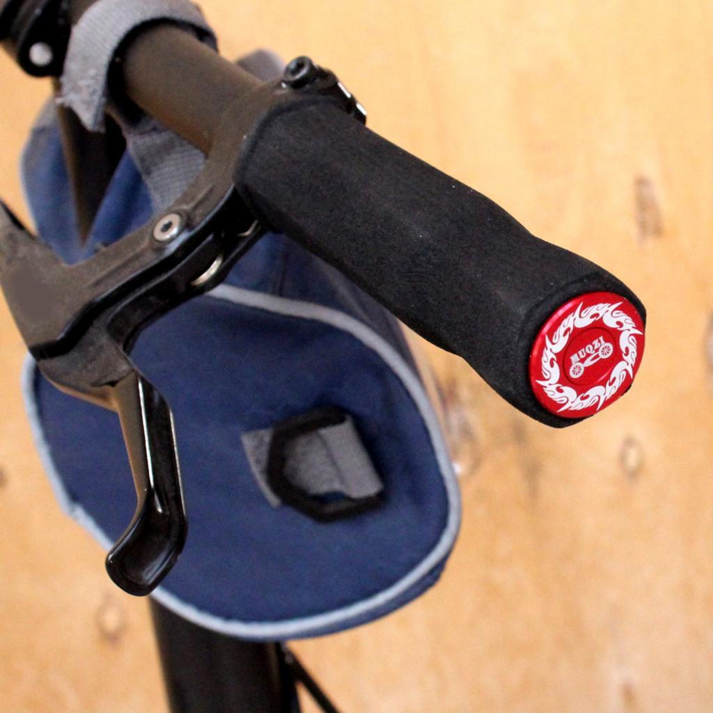 3Pair Cycle Road MTB Bike Handlebar End Lock-On Plugs Bar Grips Caps Covers VQ