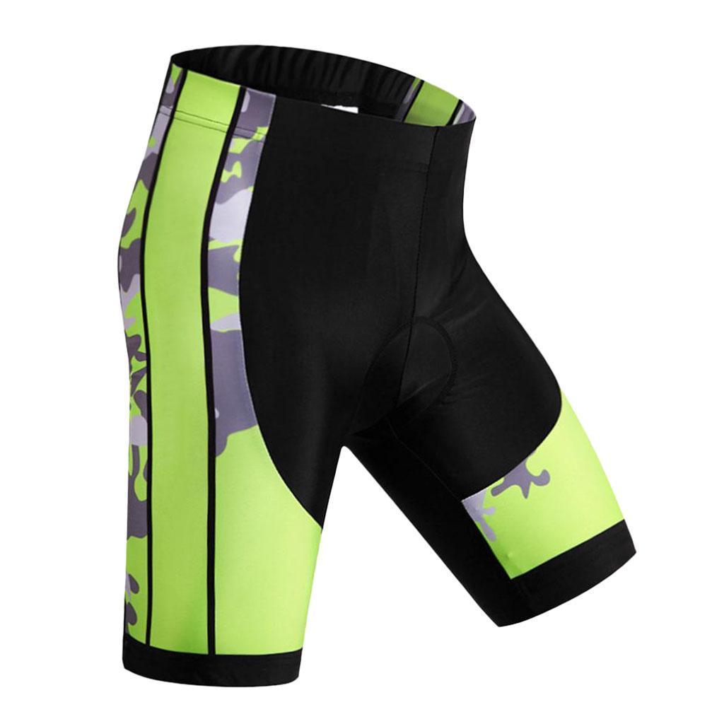 Pantalones Cortos Para Ciclismo Hombres Acolchado Transpirable Ciclismo Pantalon Para Montana Bicicleta De Carretera Media Ebay