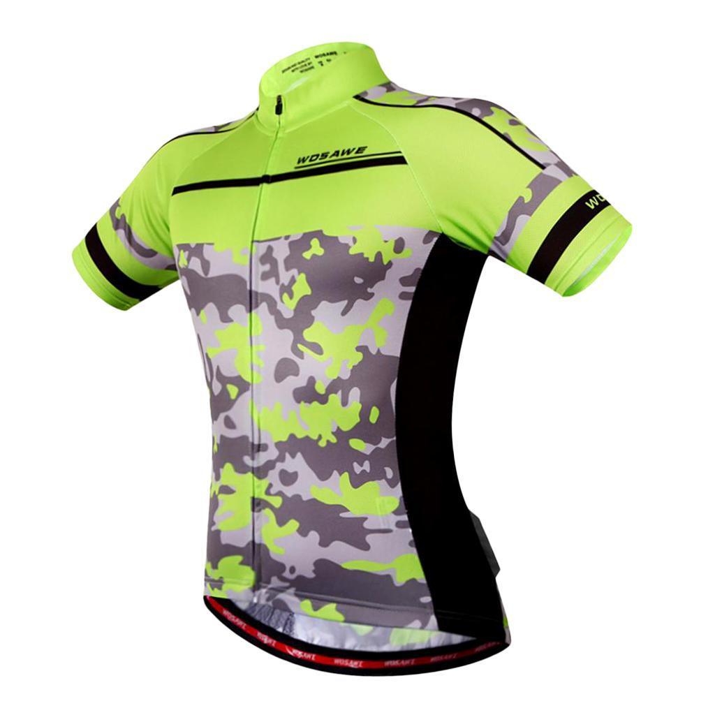 Homme-Maillots-De-Cyclisme-Velo-a-Manches-Courtes-Respirant-T-Shirt miniature 27