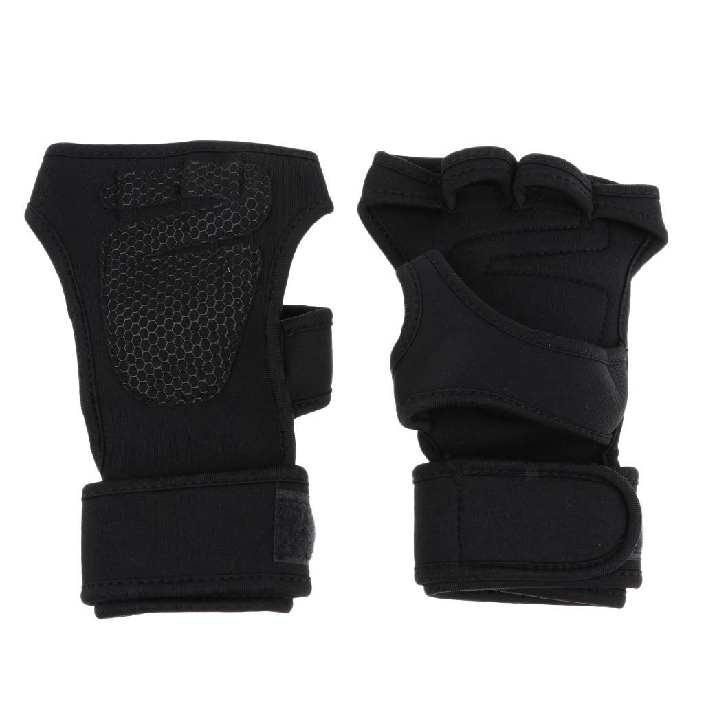 1-Pair-of-Wrist-Guard-Brace-Hand-Protection-Glove-Cycling-Gloves-Anti-slip thumbnail 3