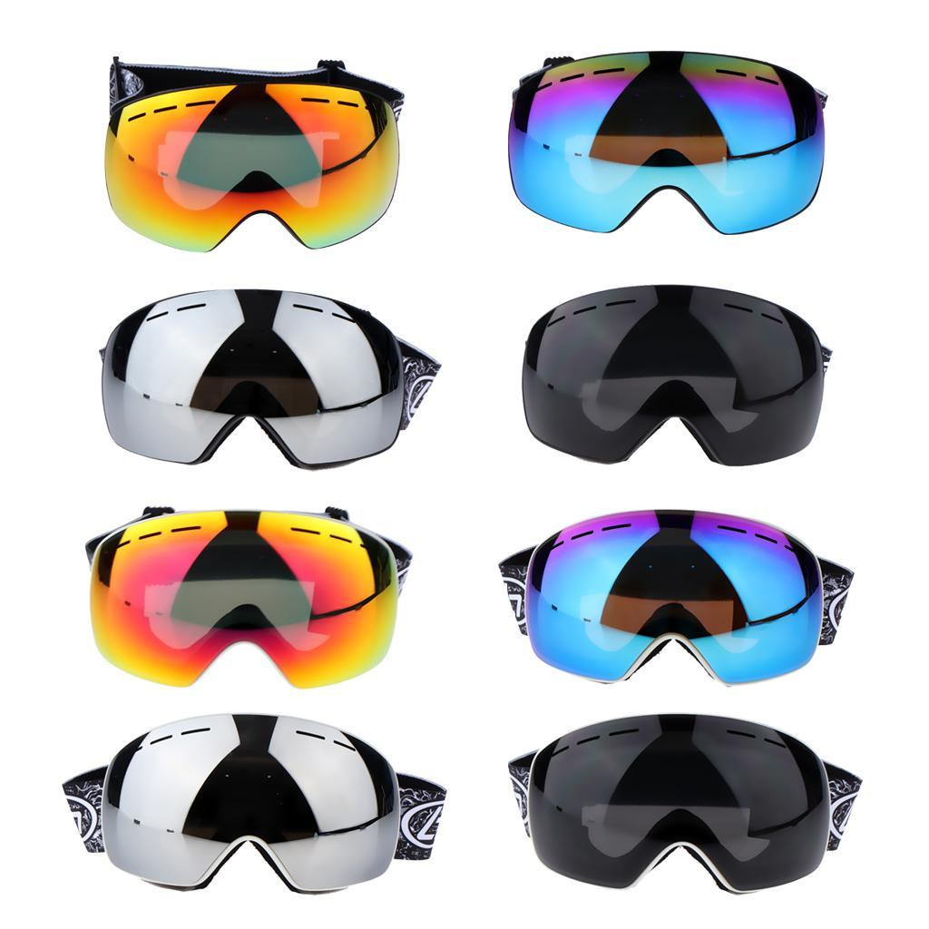 Unisex-Adult-Skiing-Goggles-UV-Protection-Goggles-Eyewear-Windproof-Anti-fog thumbnail 4
