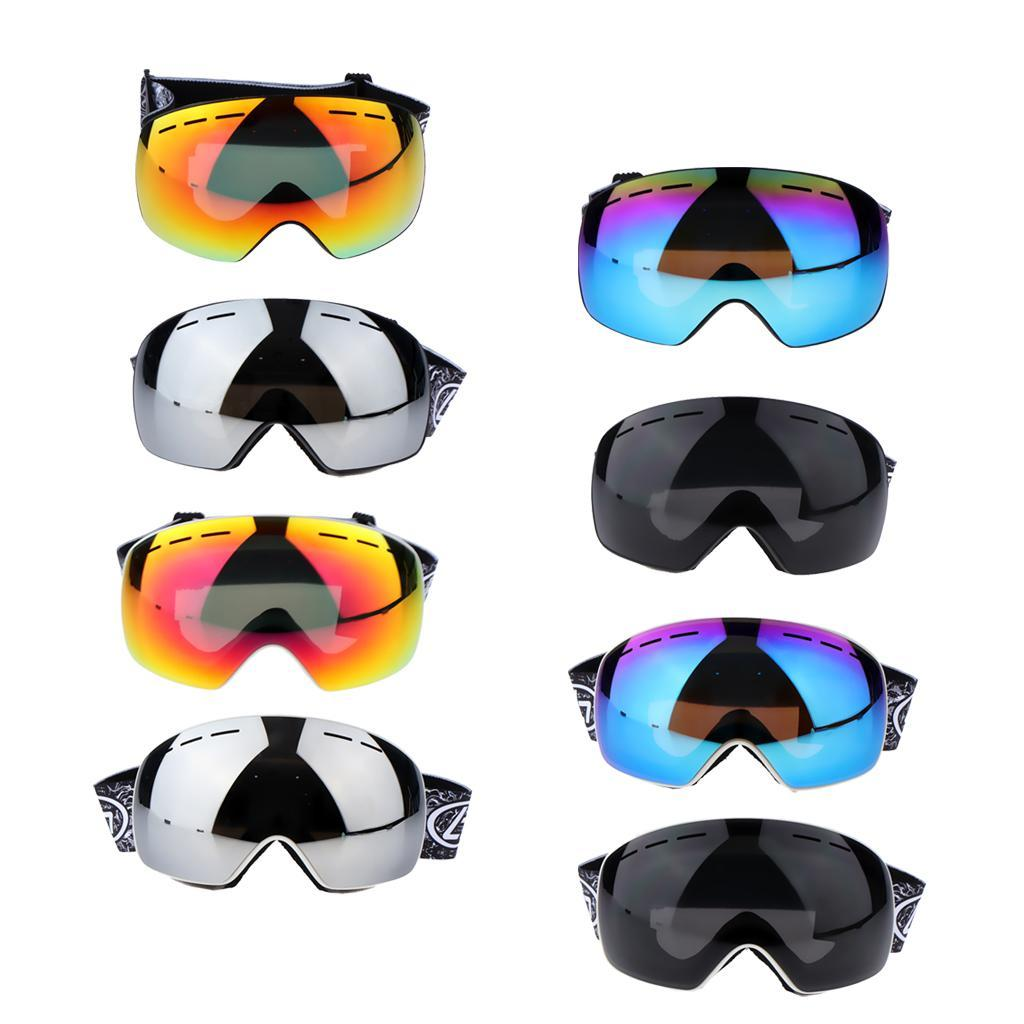 Unisex-Adult-Skiing-Goggles-UV-Protection-Goggles-Eyewear-Windproof-Anti-fog thumbnail 5