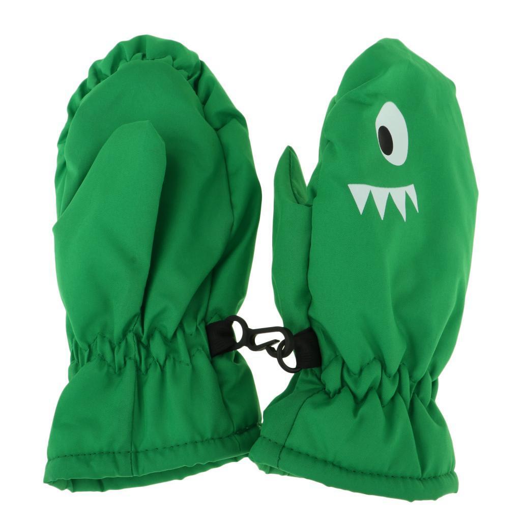 MagiDeal-Waterproof-Gloves-Child-Kids-Boys-Girls-Sports-Snow-Warm-Mittens thumbnail 11