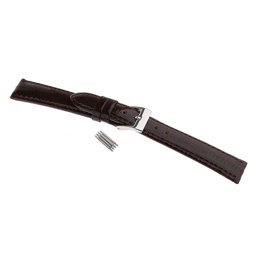 Luxury-Genuine-Leather-Strap-Replacement-Watch-Bands-12mm-20mm-Watchmaker-Repair thumbnail 50