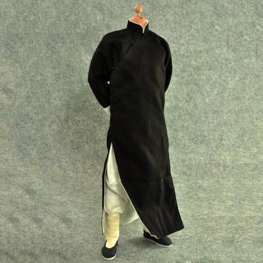1-6-Clothes-Kung-Fu-Set-for-12-039-039-Enterbay-Bruce-Lee-Jet-Li-Donnie-Yen-Figure miniature 10