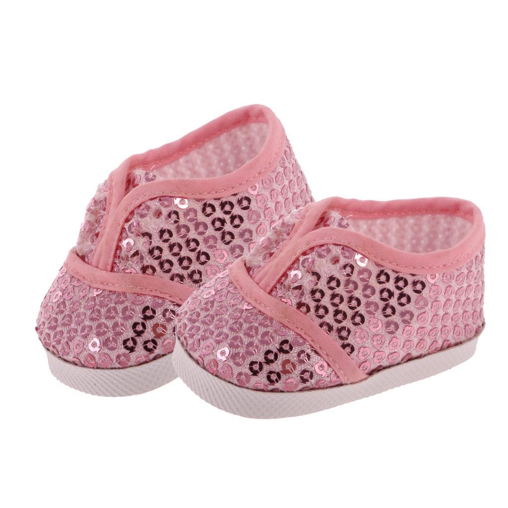 New-Cute-Pair-of-Doll-Shoes-for-18-039-039-American-doll-AG-Dolls-Clothes-Accessories thumbnail 26