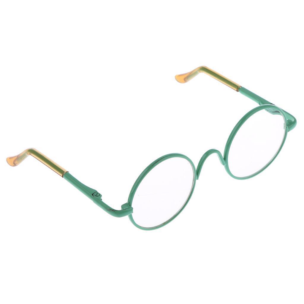 Mini runde Rahmen Puppe Gläser Brillen Puppenbrille für 12 ...
