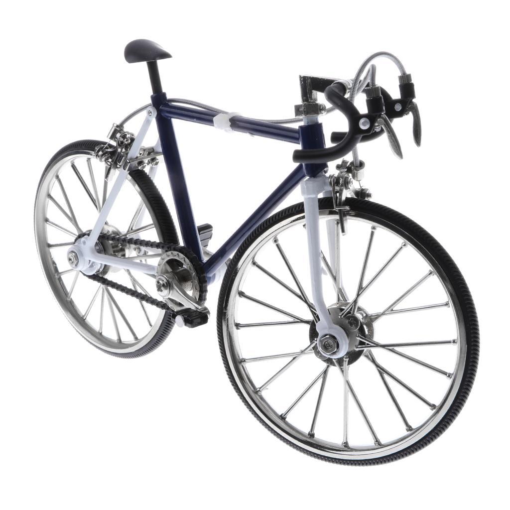 Mini Diecast Velodrome Models Racing Bike Bicycle Replica Toy 1:16 Scale