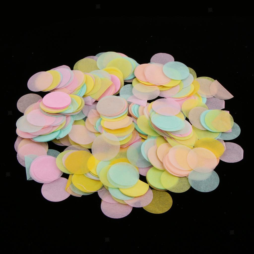 30g-Round-Tissue-Paper-Throwing-Confetti-Party-Balloon-Confetti-Wedding-Decor miniature 6