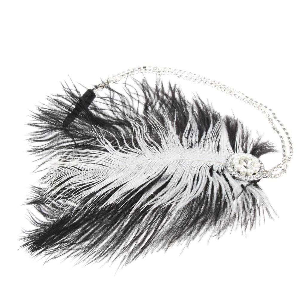 Bandeau-Cheveux-Serre-tete-Femme-Accessoire-de-Cheveux-Fantasie-Decor miniature 5