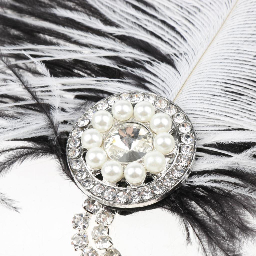 Bandeau-Cheveux-Serre-tete-Femme-Accessoire-de-Cheveux-Fantasie-Decor miniature 3