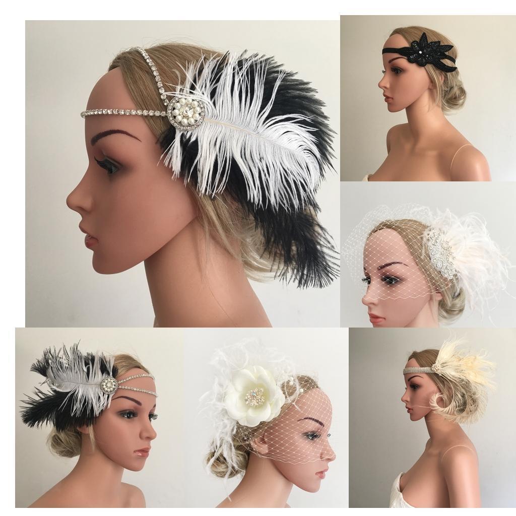 Bandeau-Cheveux-Serre-tete-Femme-Accessoire-de-Cheveux-Fantasie-Decor miniature 6
