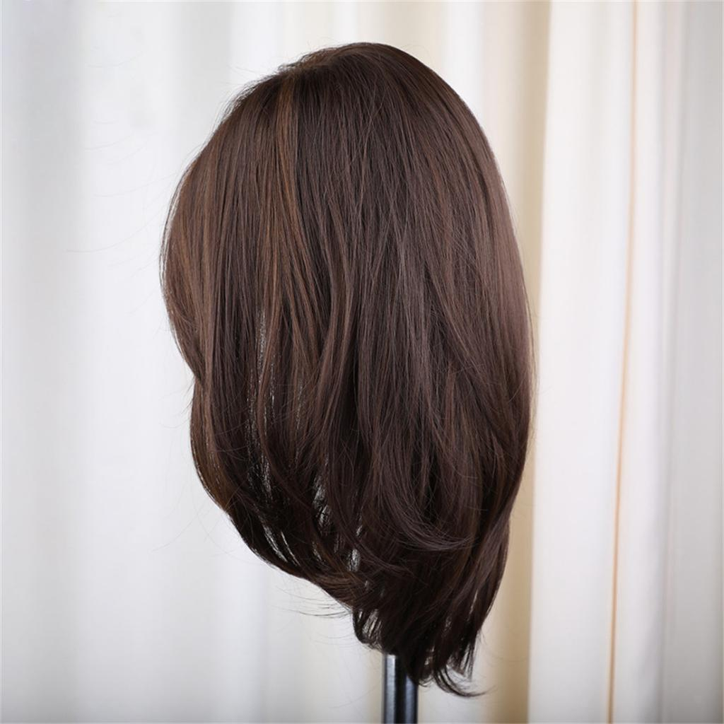 16-039-039-Natural-Looking-Side-Part-Wavy-Straight-Full-Hair-Wig-Women-Wedding-Wig thumbnail 11