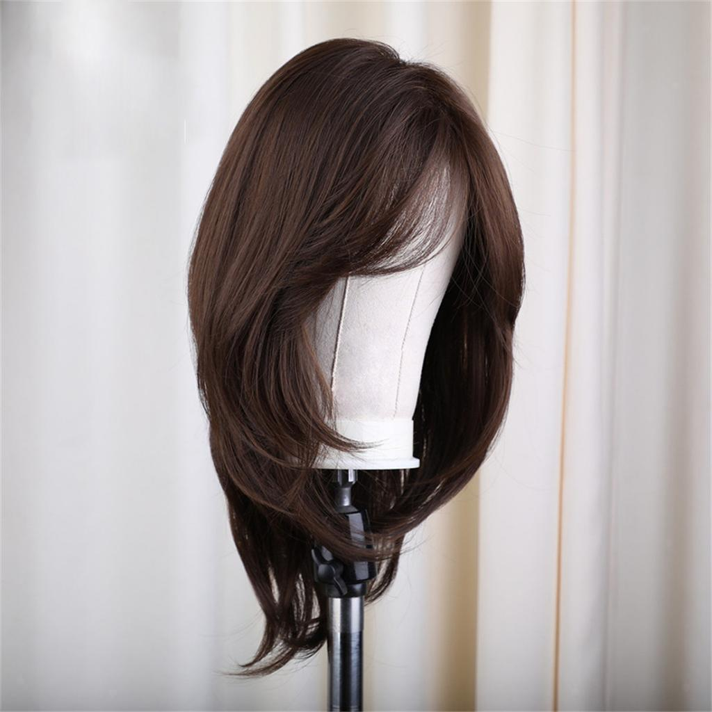 16-039-039-Natural-Looking-Side-Part-Wavy-Straight-Full-Hair-Wig-Women-Wedding-Wig thumbnail 12