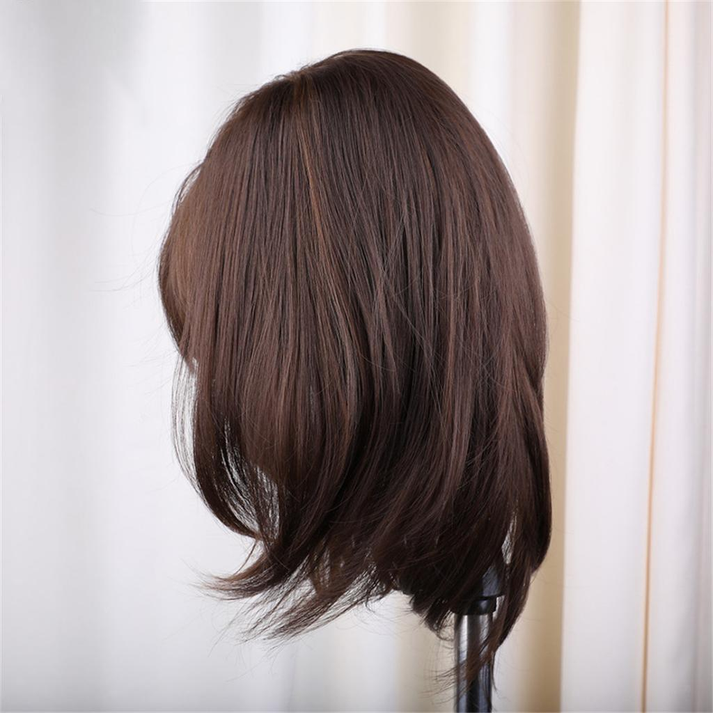 16-039-039-Natural-Looking-Side-Part-Wavy-Straight-Full-Hair-Wig-Women-Wedding-Wig thumbnail 5