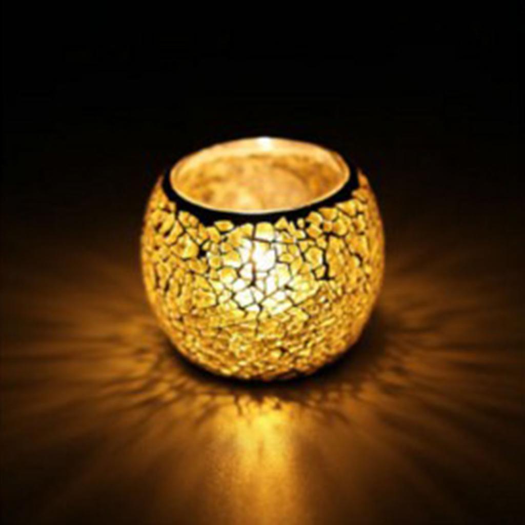Retro Candle Holder Tealight Votive Holder Candlestick Wedding Party Decorative