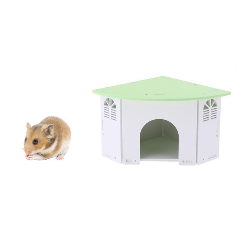 Cute-Hamster-House-Cage-for-Rat-Mouse-Nest-Net-Villa-FOR-Rat-Sleep-Rest miniature 10