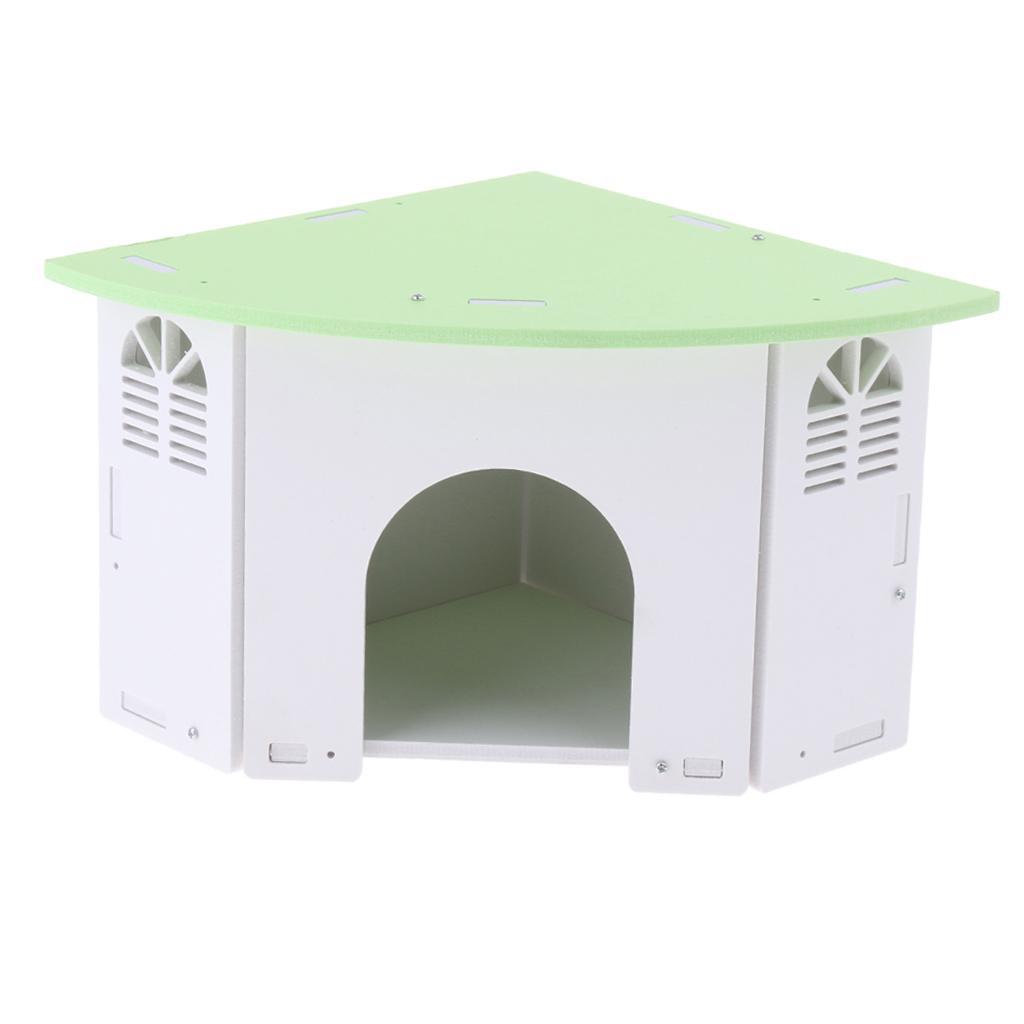 Cute-Hamster-House-Cage-for-Rat-Mouse-Nest-Net-Villa-FOR-Rat-Sleep-Rest miniature 9