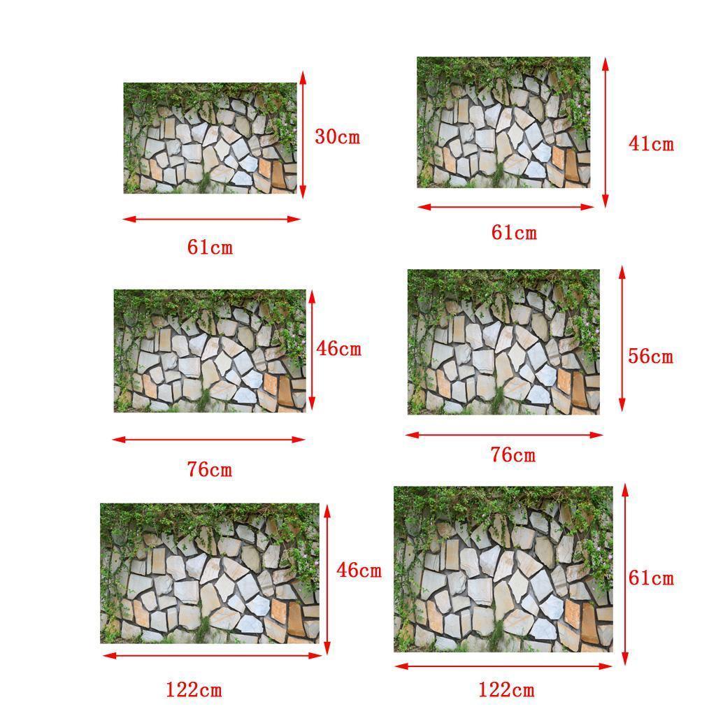 Adesivo-di-pesce-acquario-Poster-di-sfondo-per-serbatoio-Decorazione miniatura 20