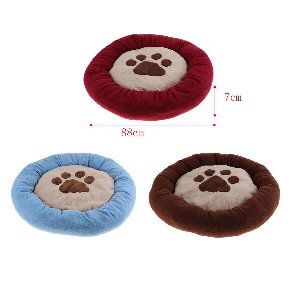 Indexbild 11 - Kleine Hundebett Runde Welpen Bett Weiche Niedliche Haustier Bett Kissen