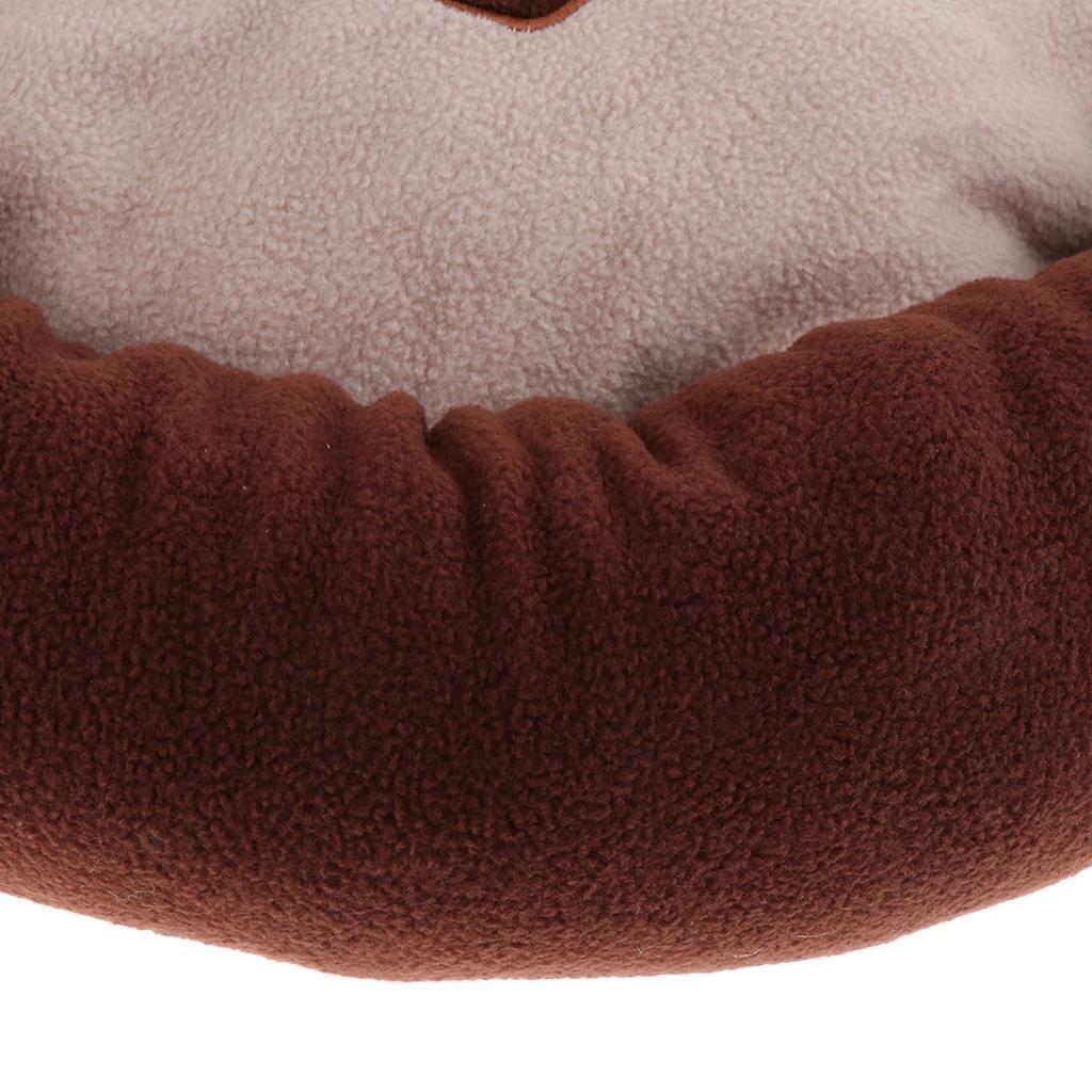 Indexbild 9 - Kleine Hundebett Runde Welpen Bett Weiche Niedliche Haustier Bett Kissen