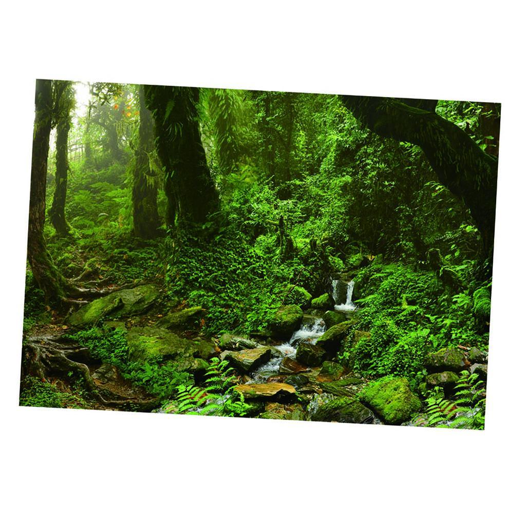 Poster-Acquario-Sfondo-Acquario-Adesivo-Paesaggio-Fish-Reservoir miniatura 22