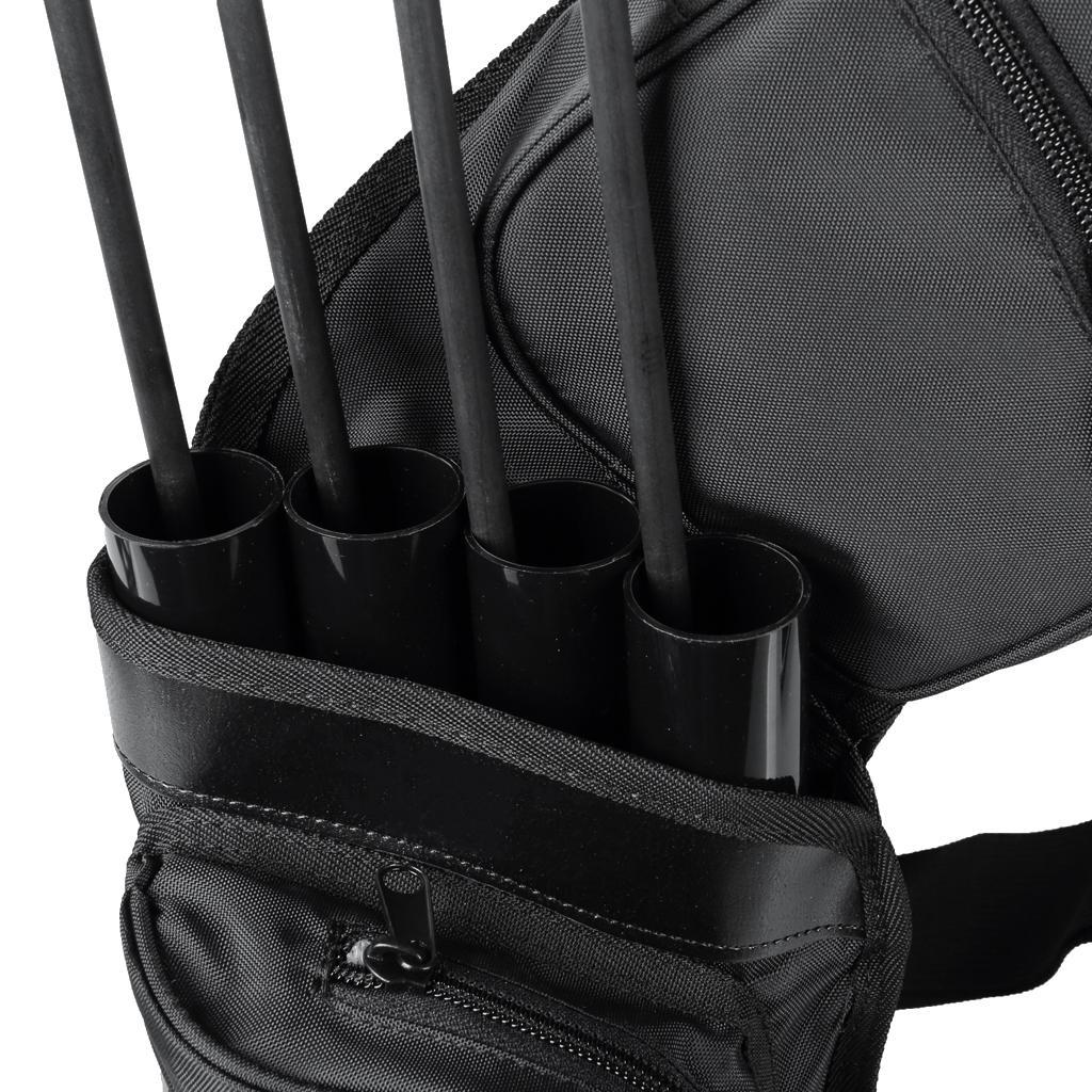 Archery-4-Tube-Camo-Arrow-Quiver-Holder-Belt-Waist-Bow-Hunting thumbnail 12