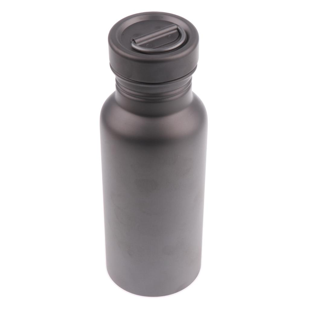 Titanium Sports Insulated Water Bottle Canteen Flask Outdoor Leakproof Tea Pot