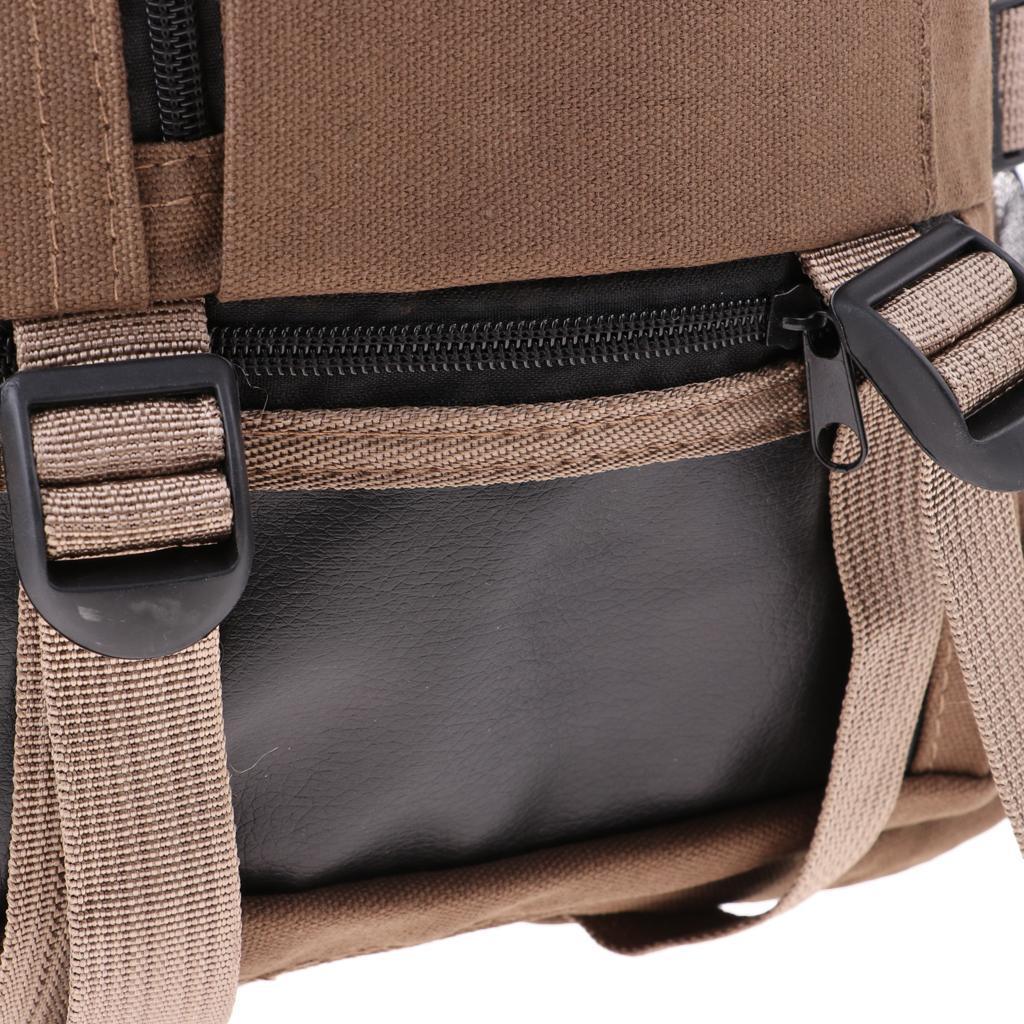 Sac-a-dos-En-Toile-Sac-D-039-ordinateur-Portable-Cartable-Pack-De-Sport-En miniature 17