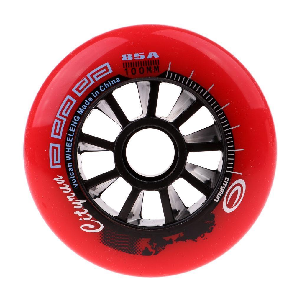 fdeeac4db69ea6 ruote di pattinaggio di velocità all'aperto in linea ruote da skate ...