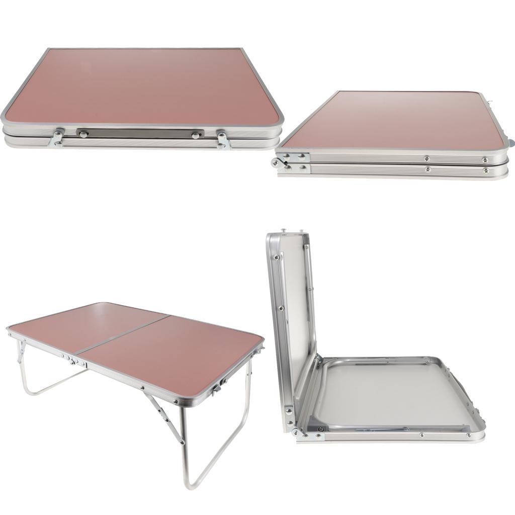 Camping-Table-Computer-Laptop-Desk-Bed-Table-Breakfast-Serving-Bed-Tray thumbnail 9