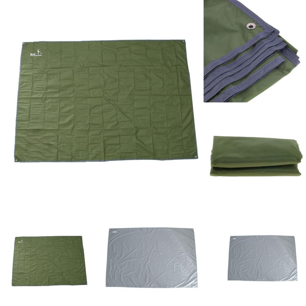 Tenda-impermeabile-Tarp-Footprint-Camping-Ground-Sheet-per-escursionismo miniatura 5