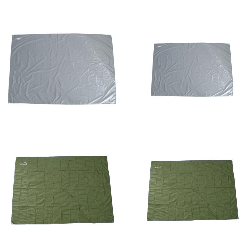 Tenda-impermeabile-Tarp-Footprint-Camping-Ground-Sheet-per-escursionismo miniatura 4