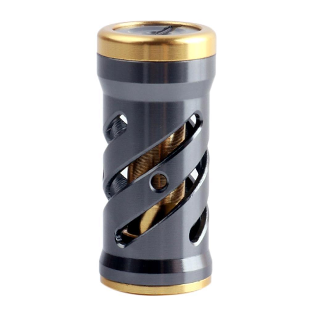 Full Metal Spinning Reel Handle Knob  Fishing Reels Grip Kits Parts