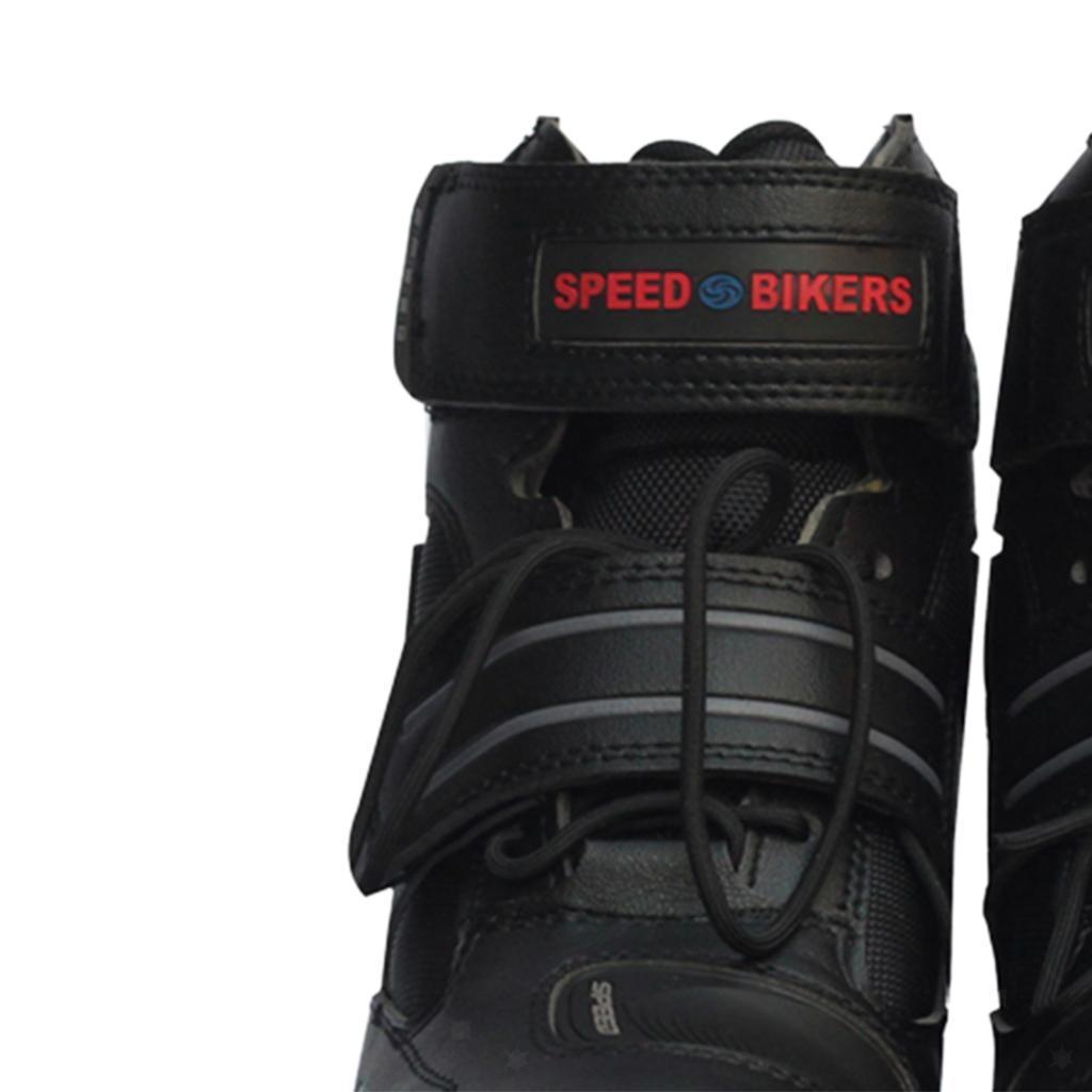 paio-di-scarpe-sportive-da-corsa-per-moto-da-corsa-impermeabili miniature 6
