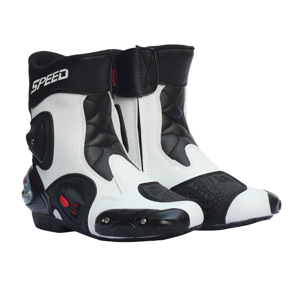 Bottes-de-Moto-Mode-Touring-Chaussures-d-039-Equitation miniature 44