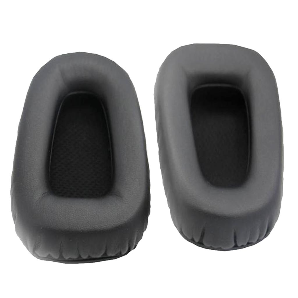 Headphones Replacement Ear Pad / Ear Cushion / Ear Cups / Ear Cover / Earpads Repair Parts For Razer Electra headphones