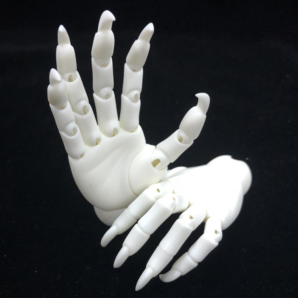 1 3 mains jointes mains mixtes BJD mains monstre modèle Halloween