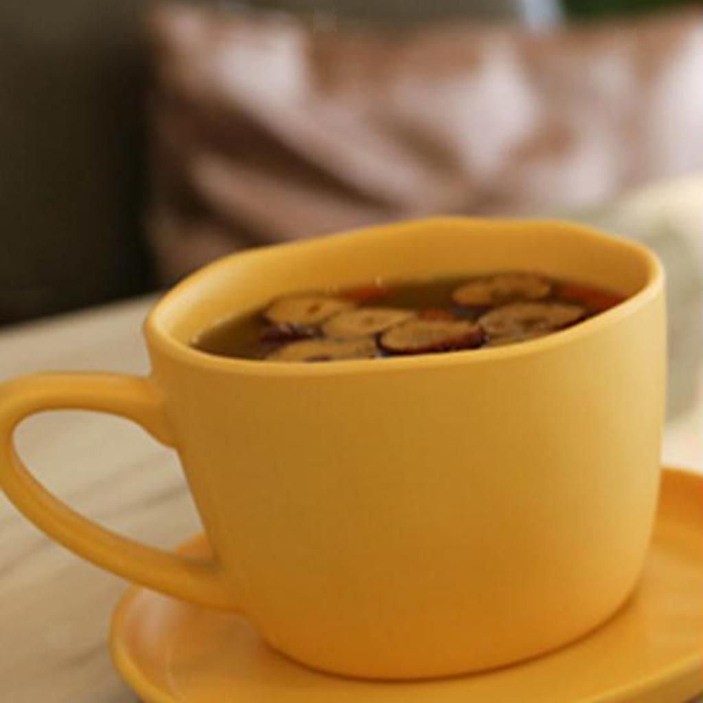 Dinnerware-Set-of-3-Service-Cup-Coffee-Mug-Salad-Bowl-with-Saucer-Plate thumbnail 4