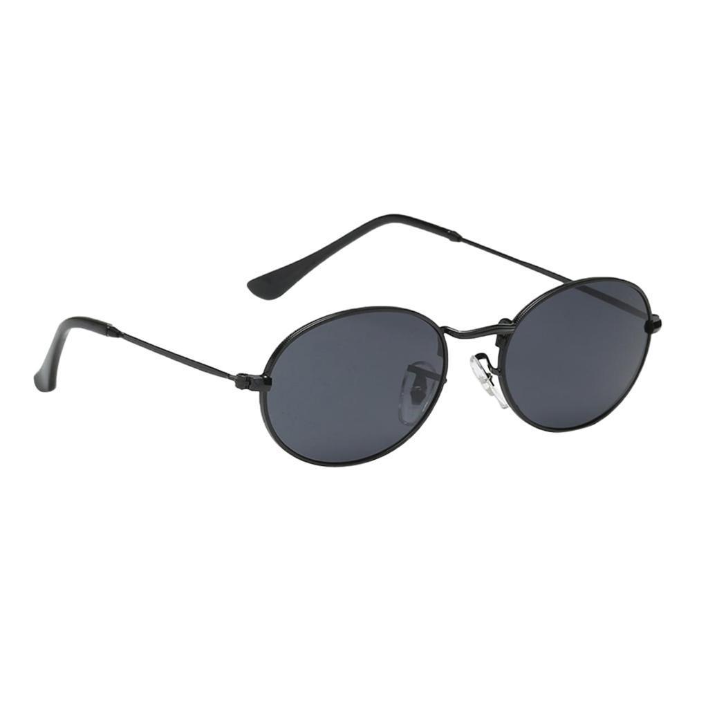 Vintage-Round-Frame-Womens-Men-039-s-Retro-Mirror-Sunglasses-Eyewear-Fashion-Glasses thumbnail 4