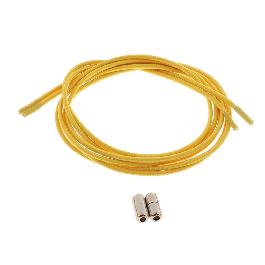 2pcs-ensemble-unisexe-aucune-cravate-lacets-elastiques-lacets-en miniature 22