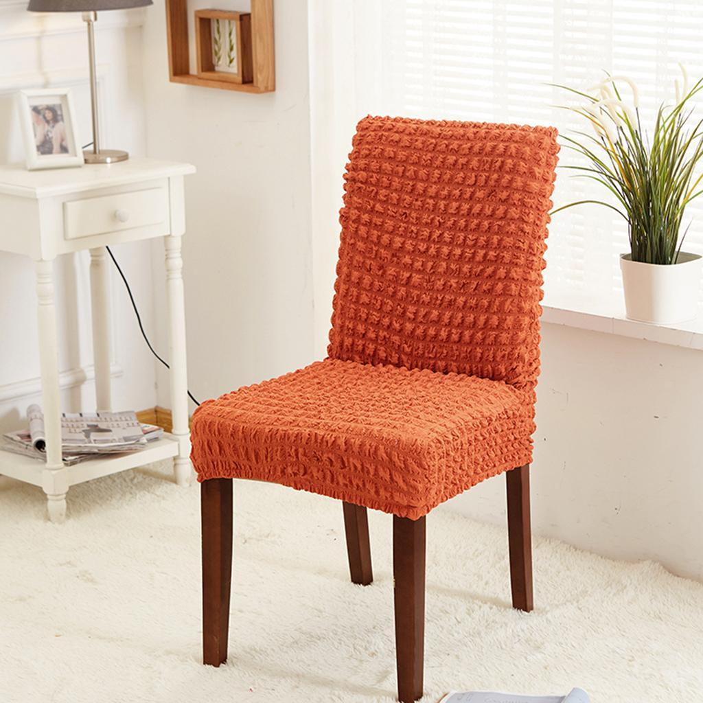 Non-Slip Stretchable Chair Seat Covers Protector Dining