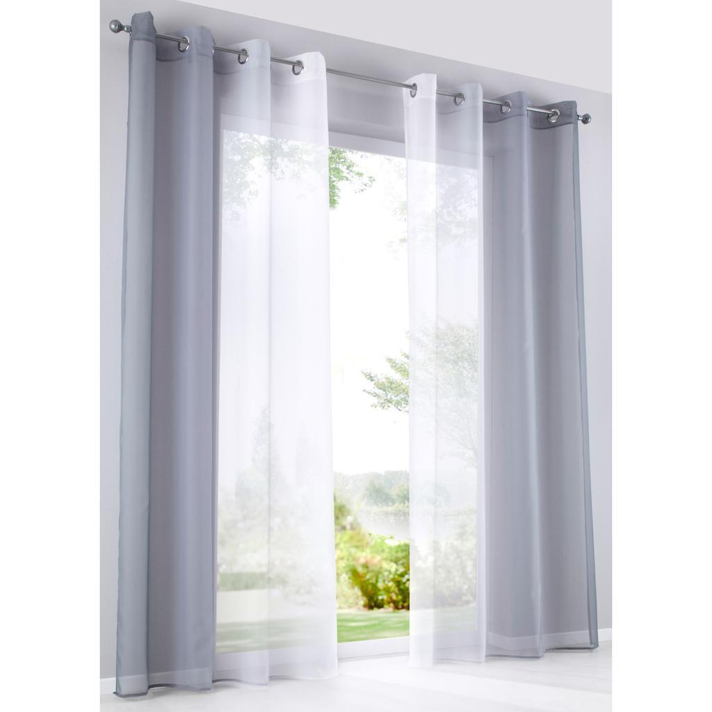 Photo De Rideau Pour Fenetre détails sur voile sheer rideau à œillets panneau largeur pour fenêtre 280cm