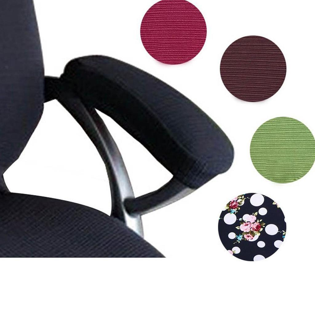 1-Pair-Removable-Elastic-Office-Chair-Armrest-Slipcovers-Covers-Pads thumbnail 9