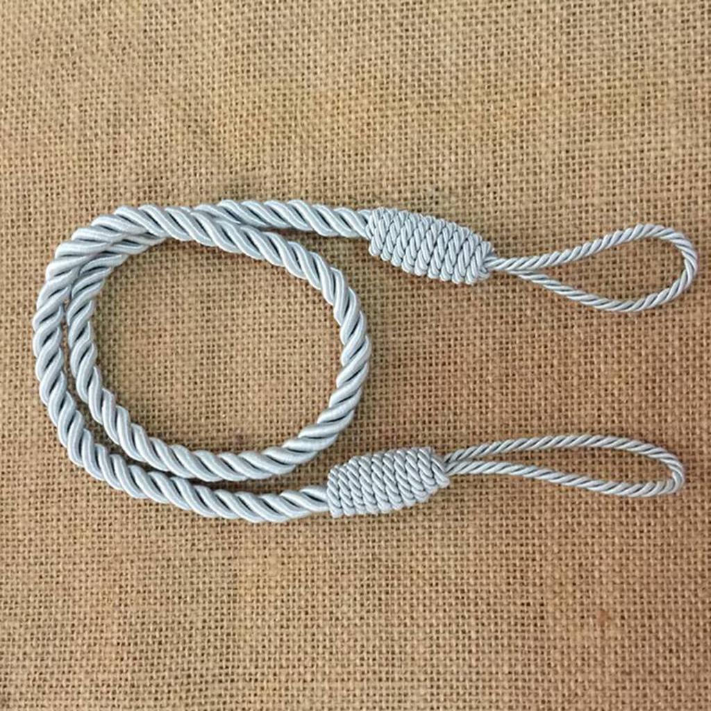 1-Pair-Curtain-Tiebacks-Tassel-Thick-Twisted-Rope-Living-Room-Decoration thumbnail 10